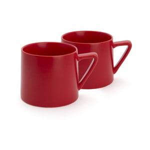 Zestaw 2 czerwonych kubków Bredemeijer Lund