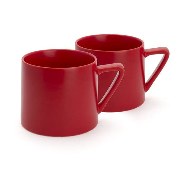 Zestaw 2  czerwonych kubków Bredemeijer Lund, 300 ml