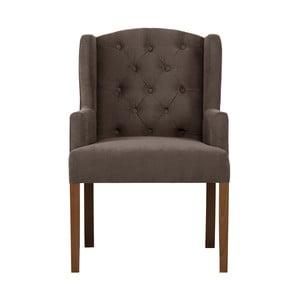 Brązowe krzesło Rodier Liberty