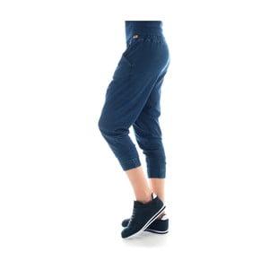 Bawełniane spodnie dresowe barwione indygo Lull Loungewear Jaden, rozm.L