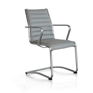 Krzesło biurowe Pandora, szare
