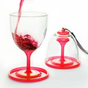 Zestaw czerwonych lampek do wina Asobu Stack N' Go Vino, 300 ml