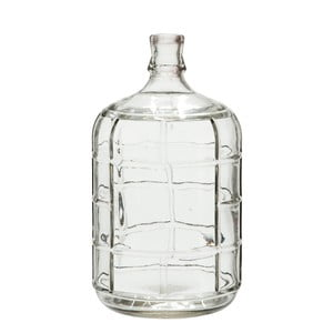 Szklany wazon Check, 27 cm