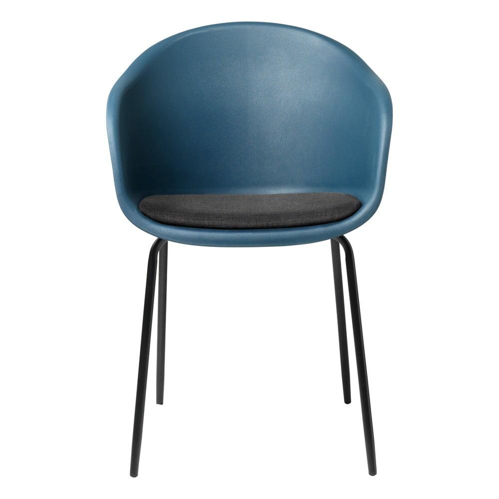Niebieskie krzesło Unique Furniture Topley