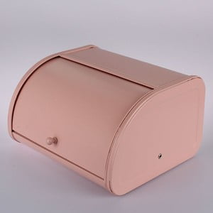 Blaszany chlebak Pink, 30x17x25,5 cm