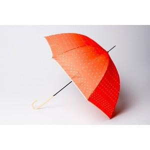 Parasol Dots, pomarańczowy