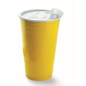 Kubek Fun Party Cup, żółty