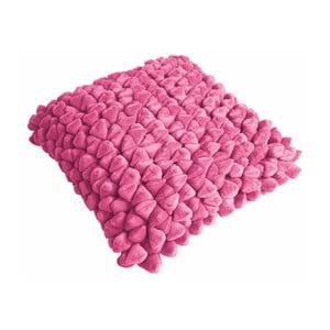 Ciemnoróżowa poduszka ZicZac Pebble, 45x45 cm