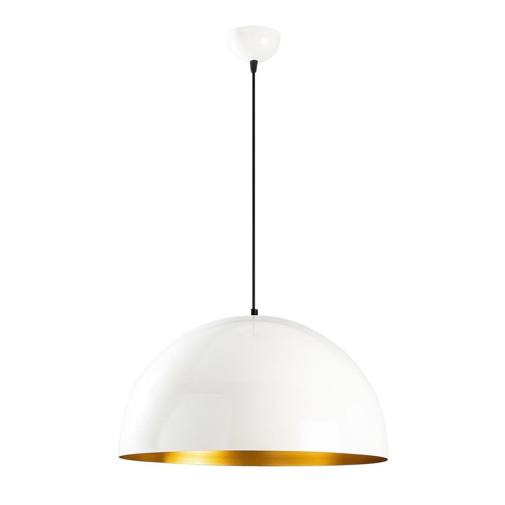 Biała lampa sufitowa Opviq lights Berceste, ø 50 cm