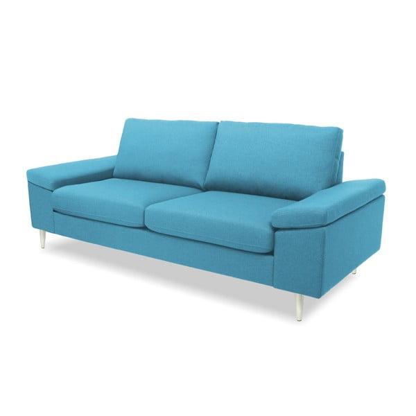 Turkusowa sofa 2-osobowa Vivonita Nathan