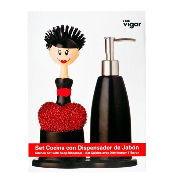 Zestaw do mycia naczyń Vigar Flamengo