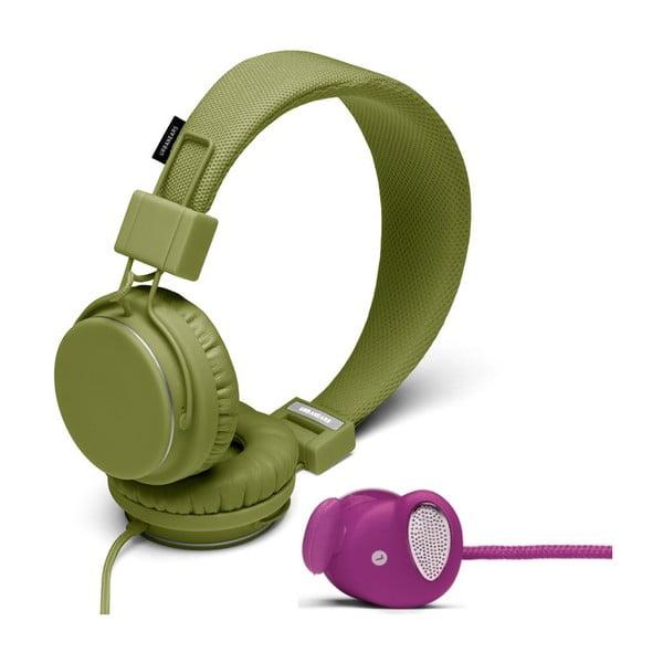 Słuchawki Plattan Olive + słuchawki Medis Grape GRATIS