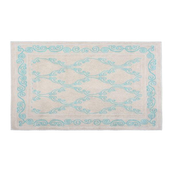 Bawełniany dywan Gina 120x180 cm, turkusowy