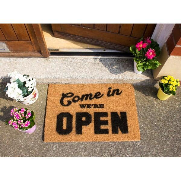 Wycieraczka Artsy Doormats We're Open, 40x60 cm
