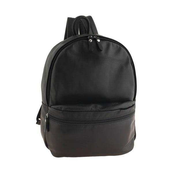 Czarny plecak skórzany Ore Diece Rovigo