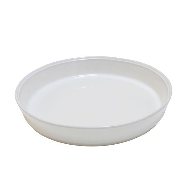 Biała kamionkowa forma do ciasta Costa Nova Friso, ⌀30cm
