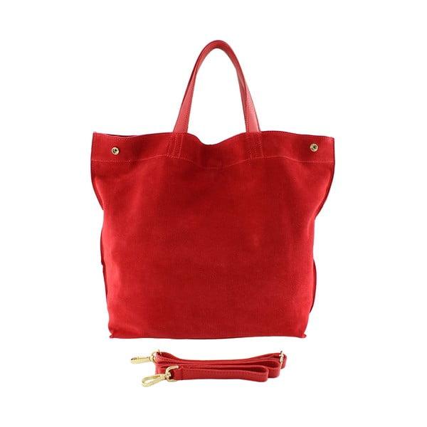 Skórzana torebka Wink, czerwona