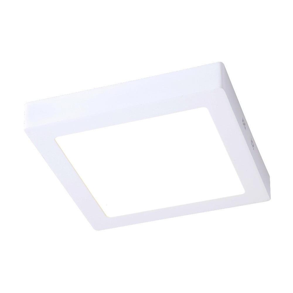 Biała lampa sufitowa z LED SULION Pluriel Square