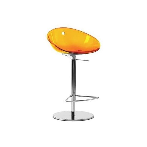 Stołek barowy Gliss 970, pomarańczowy