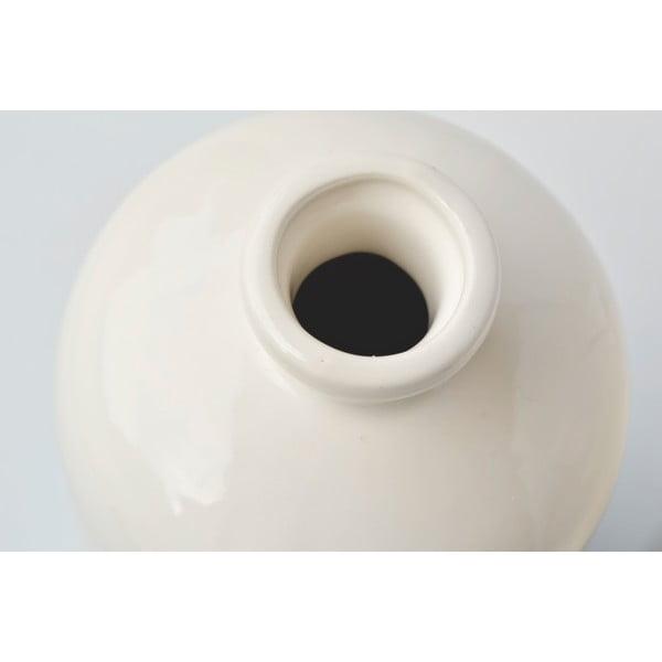 Beżowo-miętowy wazon Hawke&Thorn Parker