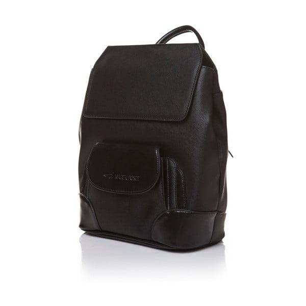 Skórzany plecak Marta Ponti Aipee, czarny