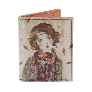 Portmonetka na karty i wizytówki Santoro London Willow Souvenir D´Hiver