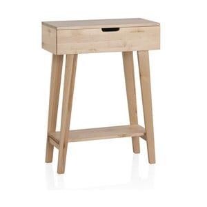 Stolik z drewna brzozowego Geese Pure