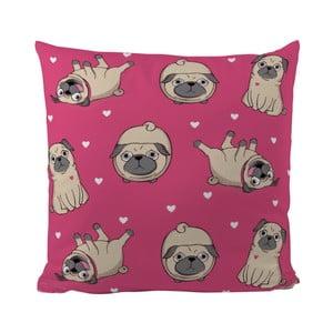Poduszka Love Pug