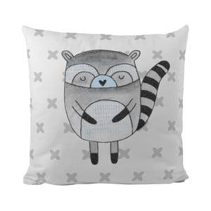 Poduszka   Blue Raccoon, 50x50 cm
