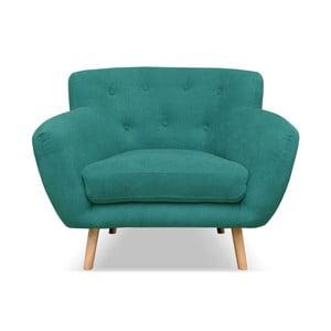 Ciemnozielony fotel Cosmopolitan design London