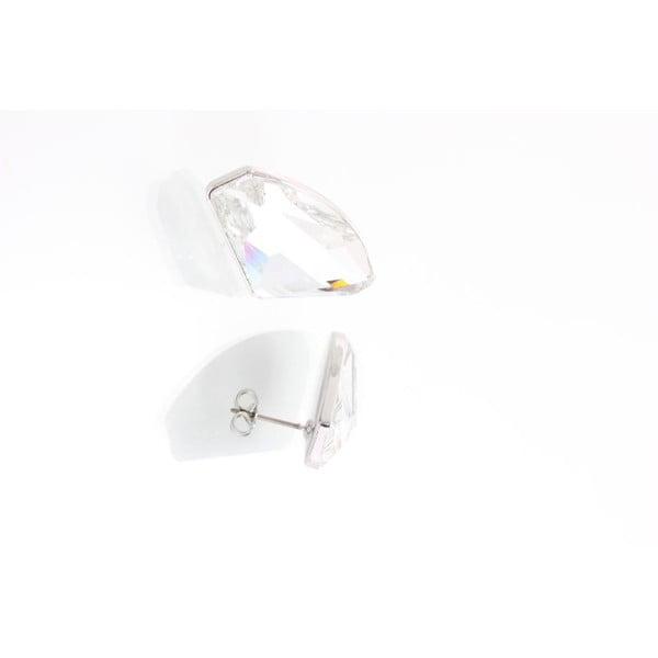 Kolczyki Yasmine Crystals Clear