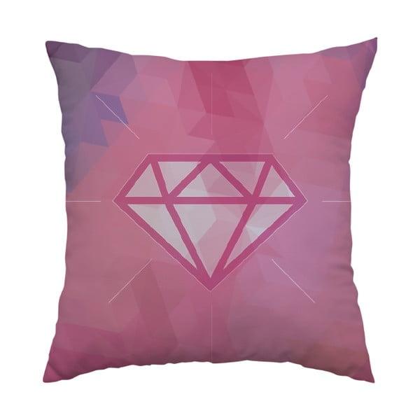 Poduszka Pink Diamond, 40x40 cm