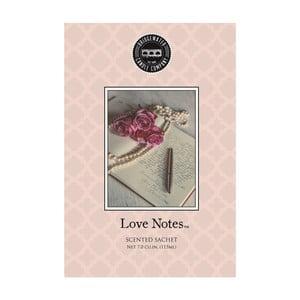Woreczek zapachowy o zapachu bergamotki, róży, orzechów i paczuli Creative Tops Love Notes