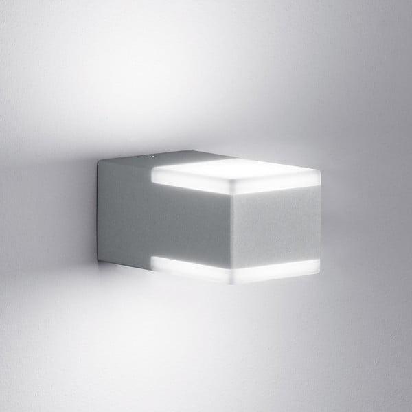 Kinkiet zewnętrzny Don Titanium, 7 cm