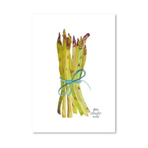 Autorski plakat Asparagus, 30x42 m