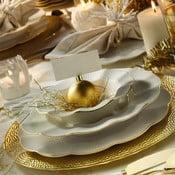 24-częściowy zestaw talerzy z porcelany Kutahya Waves