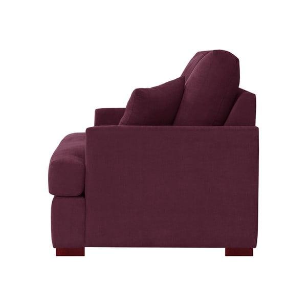 Fotel Jalouse Maison Irina, bordowy