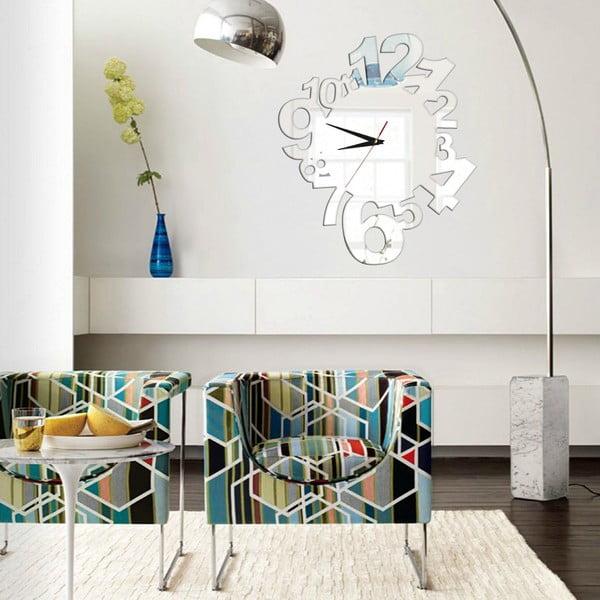 Zegar dekoracyjny samoprzylepny  Modern Numbers