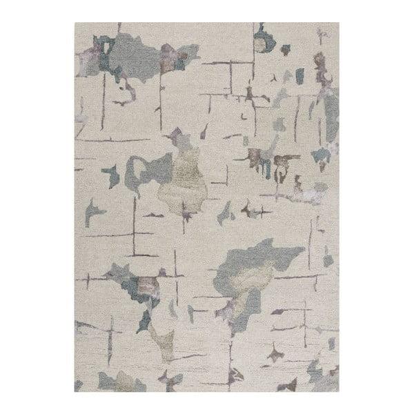 Wełniany   dywan Bita Blue, 140x200 cm