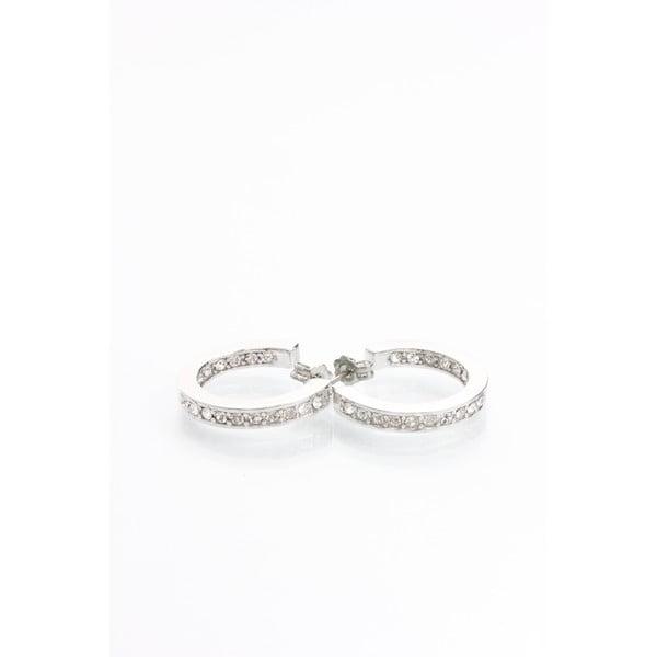 Kolczyki z kryształami Swarovski Elements Laura Bruni Infinity