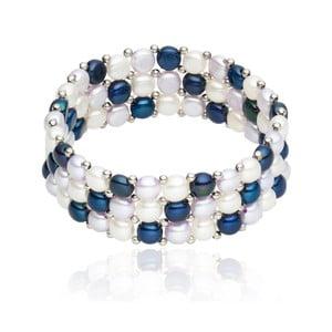 Bransoletka Nova Pearls Copenhagen Olla Lilac/Dark Blue