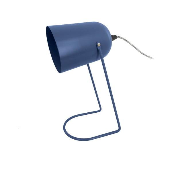 Ciemnoniebieska lampa stołowa Leitmotiv Enchant