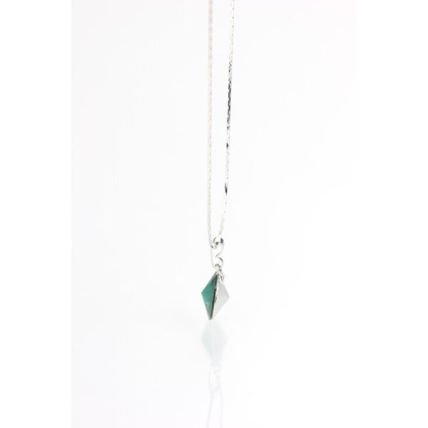 Zielony naszyjnik z kryształami Swarovskiego Yasmine Longie