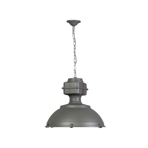 Szara lampa wisząca ETH Manduria