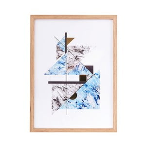 Ilustracja w ramie Abstract Marble no. 2