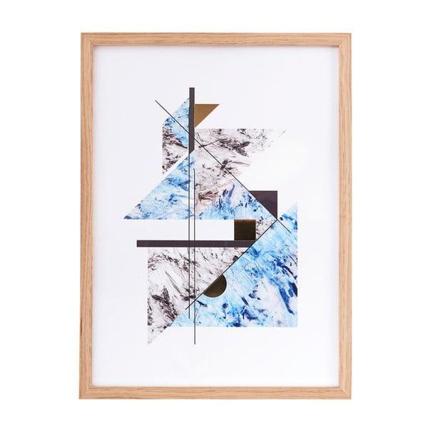 Ilustracja w ramie Abstract Marble no. 2