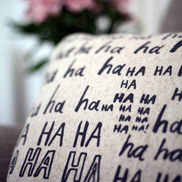 Poszewka na poduszkę Laughter, 45x45 cm