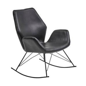 Czarny fotel bujany House Nordic Nybro