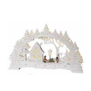Dekoracja świetlnaLittle Village, biała