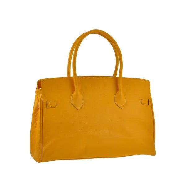 Skórzana torebka Gallina, pomarańczowa